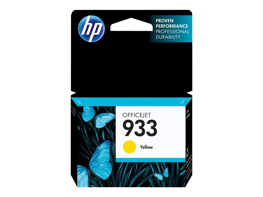 HP 933 (CN060AN) Yellow Original Ink Cartridge, CN060AN#140, 13469490, Ink Cartridges & Ink Refill Kits