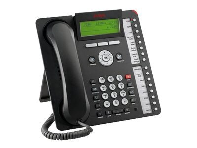 Avaya 1616 IP Telephone, Black (Icon Only), 700504843