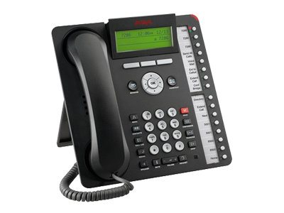 Avaya 1616 IP Telephone, Black (Icon Only)