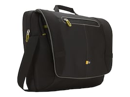 Case Logic 15-17 Messenger Case, PNM-217Black, 10983961, Carrying Cases - Notebook