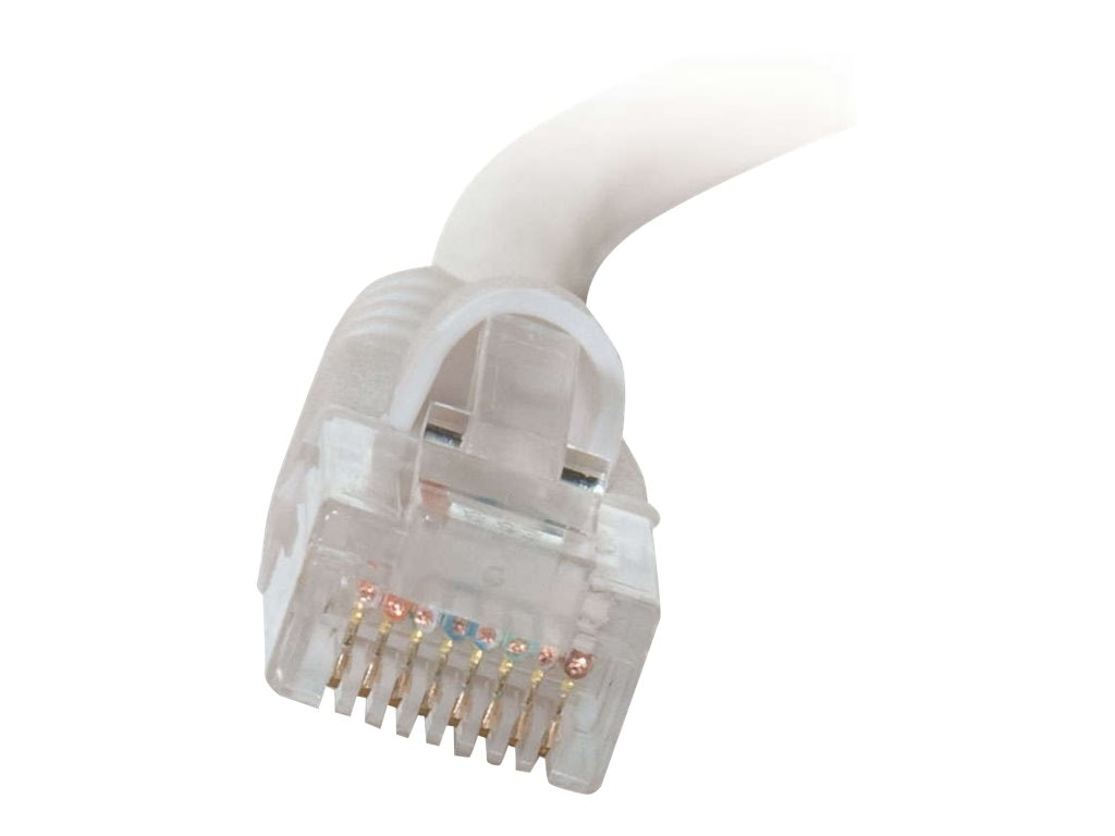 C2G Cat5e Snagless Unshielded (UTP) Network Patch Cable - White, 30ft