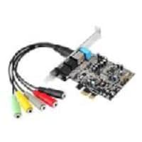Siig Dual Profile PCI-Express 7.1-channel Sound Card, IC-710211-S1, 15989018, Sound Cards