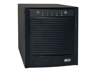 Tripp Lite TAA Compliant SmartPro 2200VA Pro Tower Line Interactive UPS SNMP USB DB9 (7) Outlets, SMART2200SLTAA, 10757576, Battery Backup/UPS