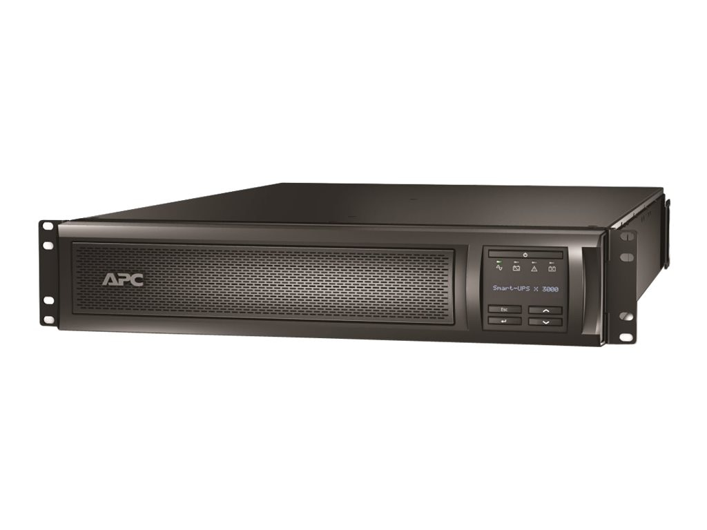 APC Smart-UPS X 3000VA 100-127V 2U Rack Tower LCD, Extended Runtime Model, SMX3000RMLV2U