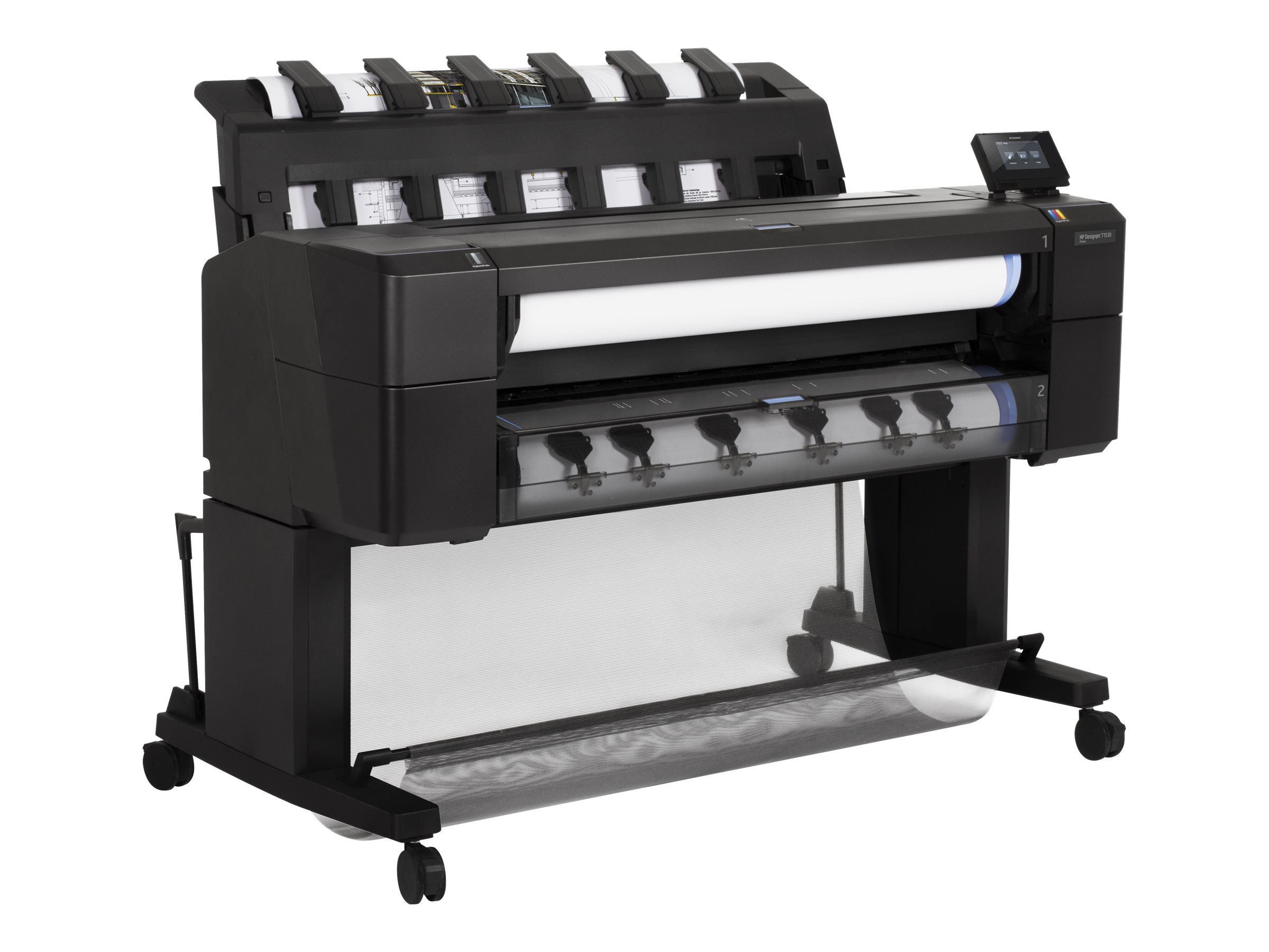 HP DesignJet T1530 36 Postscript Printer w  Encrypted Hard Drive, L2Y24B#BCB