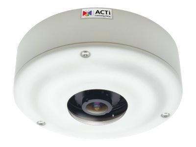 Acti 6MP Outdoor Day Night Advanced WDR Hemispheric Dome Camera