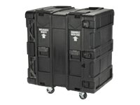 Stephen Gould 16U Roto Shock Rack 24h x 19w x 28d Stackable