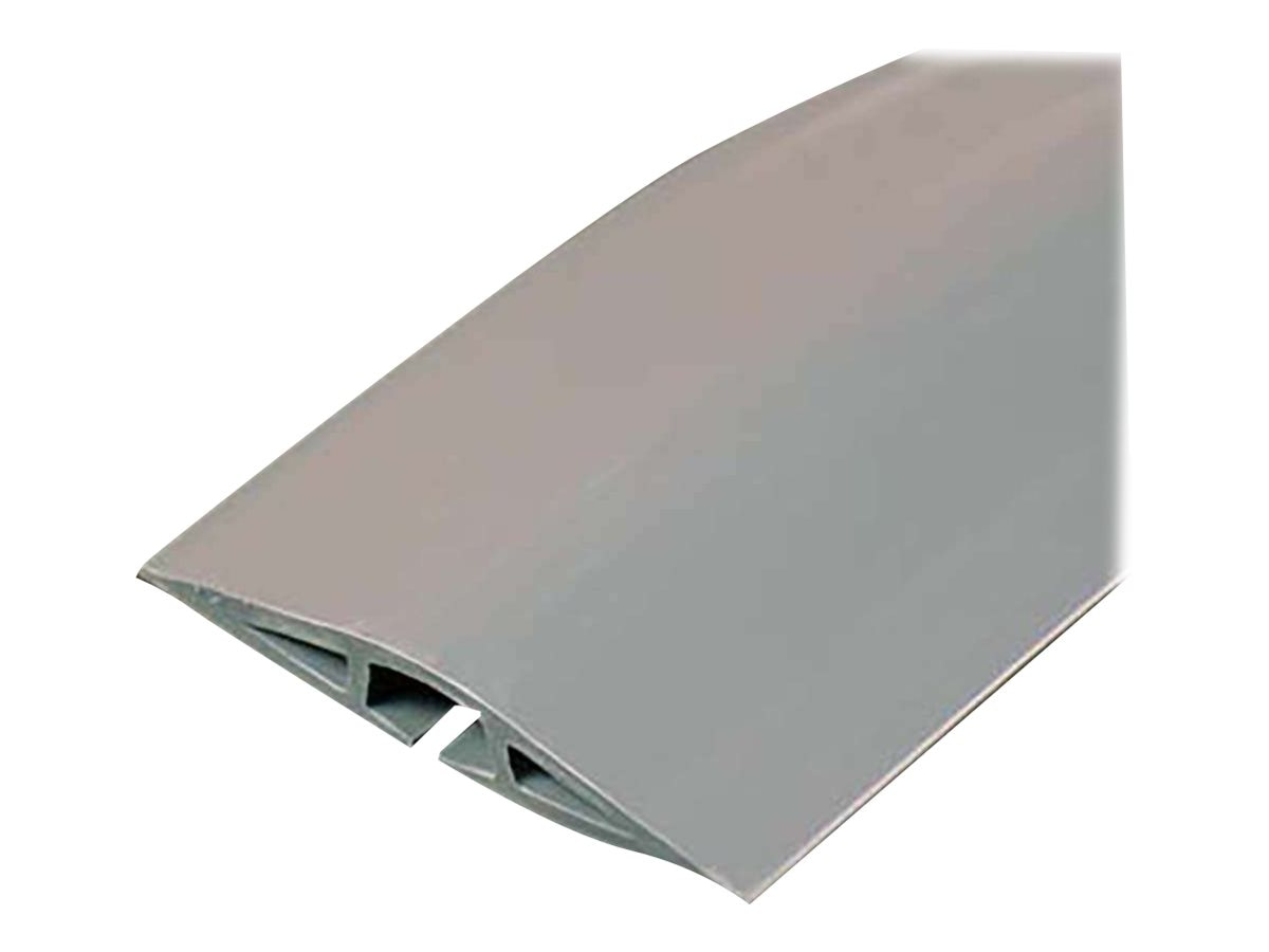 C2G Wiremold Corduct Overfloor Cord Protector, Gray, 15ft