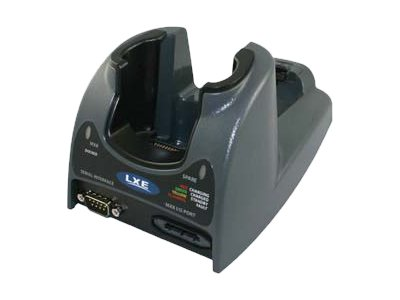 LXE Desktop Cradle w  Spare Battery Charging RS-232 USB Client, MX8002DSKCRDL, 17044384, Battery Chargers