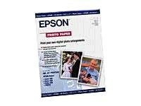 Epson 13x19 Premium Semigloss Photo Paper (20 sheets), S041327, 194956, Paper, Labels & Other Print Media
