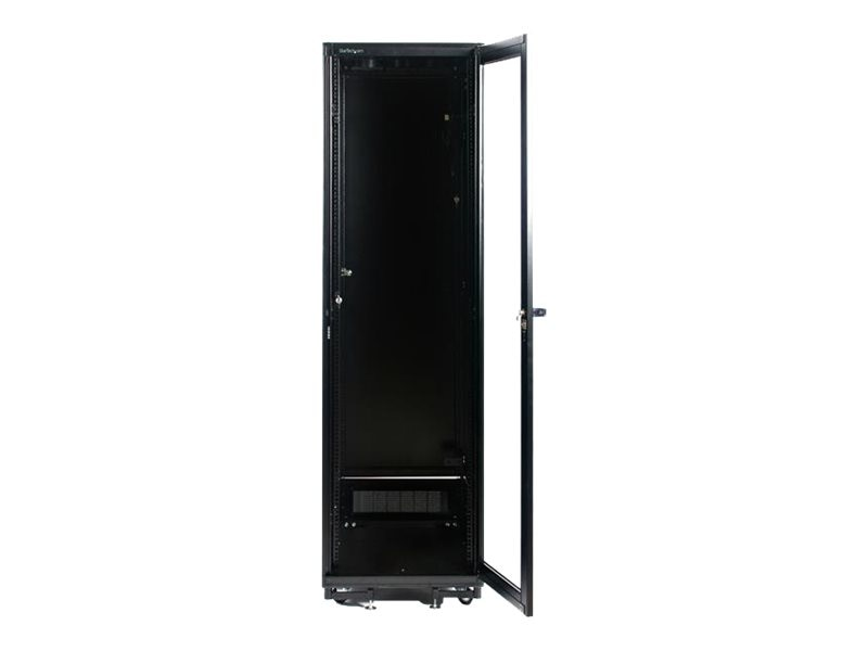StarTech.com 41U 36in Black Server Rack Cabinet, 7236CABINET