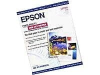 Epson High Quality Inkjet Paper Letter Size 100 Sheets