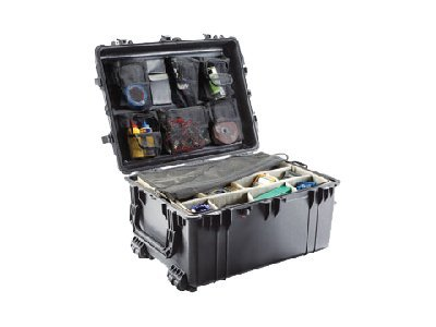 Pelican 1630 Transport Case with Pick n Pluck Foam, Black, 1630-000-110, 10945121, Carrying Cases - Other