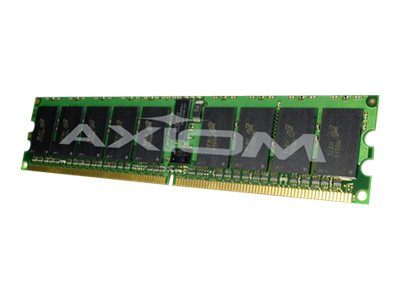 Axiom 2GB PC2-5300 240-pin DDR2 SDRAM RDIMM Kit for Select BladeCenter Models, AX25891432/2, 14310253, Memory