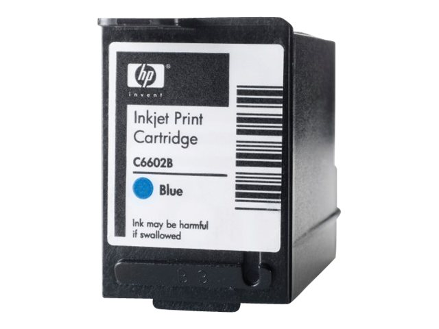 HP Blue Generic Reduced Height Ink Cartridge, C6602B, 6485344, Ink Cartridges & Ink Refill Kits