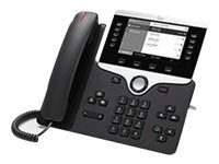Cisco IP Phone 8811, Arabic Layout, Charcoal