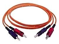 C2G Fiber Optic Patch Cable, Duplex  SC-SC, 62 125, Multimode, 3m