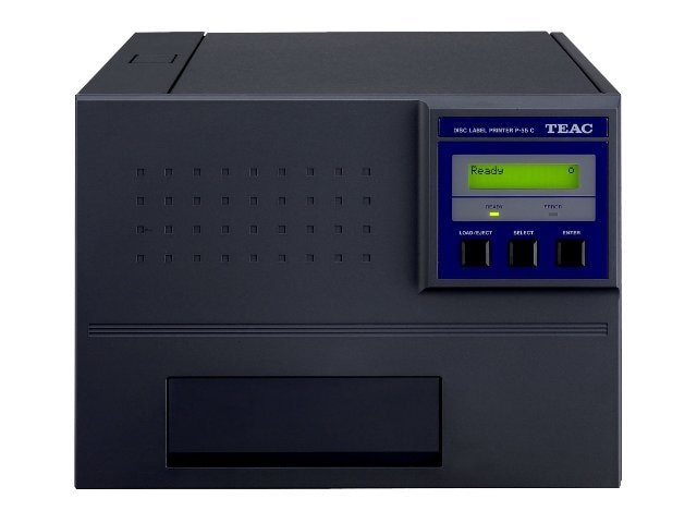 TEAC P-55C Dye-Sublimation Thermal Disc Printer w  Versamax Ribbon Set, P-55C-310