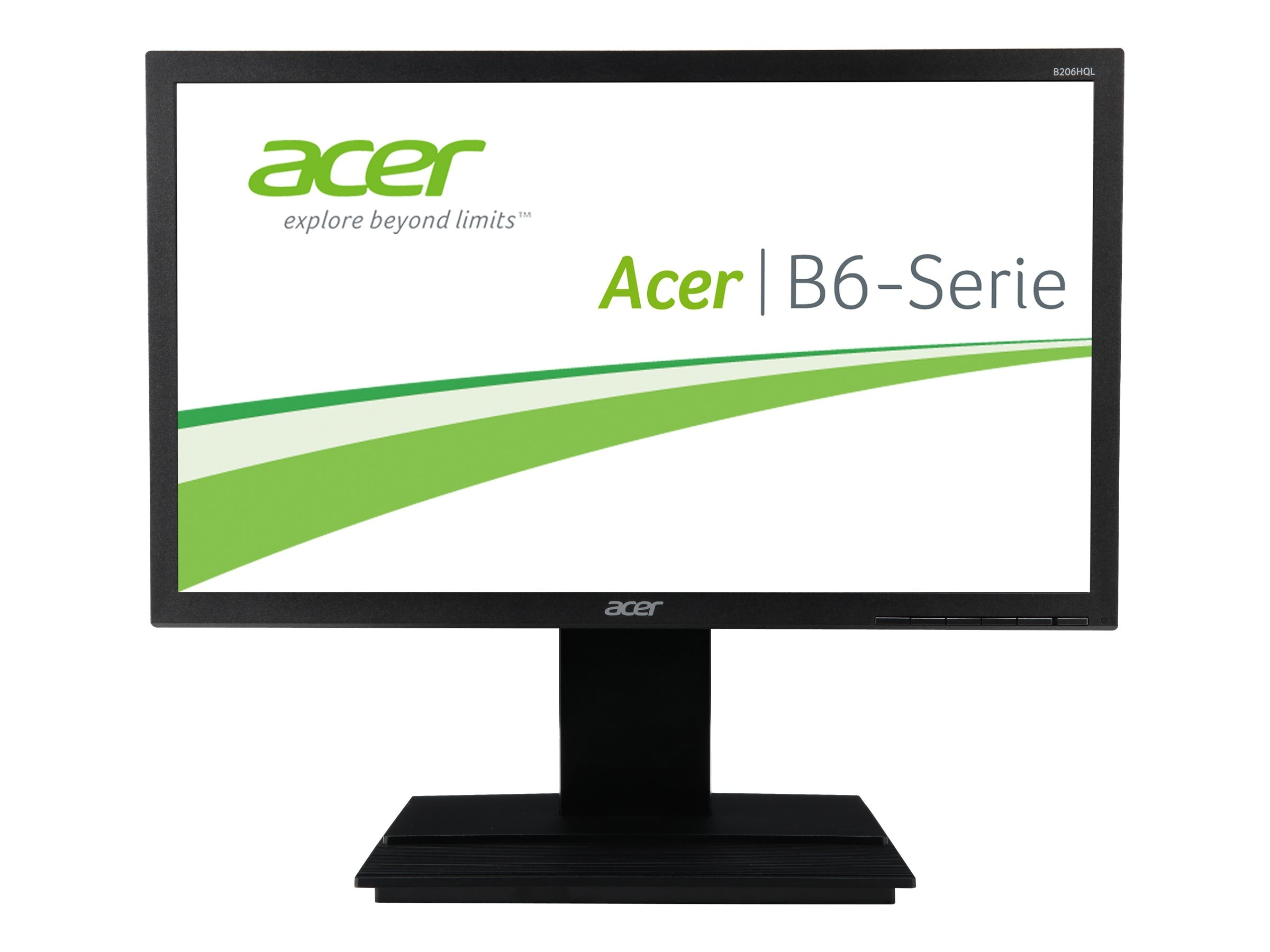 Acer 19.5 B206HQL LED-LCD Monitor, Black, UM.IB6AA.001, 16807693, Monitors - LED-LCD
