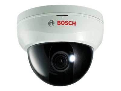 Bosch Security Systems Indoor True Day Night Dome Camera, 3.8mm Fixed Lens