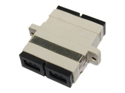 ACP-EP Female SC to Female SC MMF Duplex Fiber Optic Adapter, ADD-ADPT-SCFSCF-MD, 17487222, Adapters & Port Converters