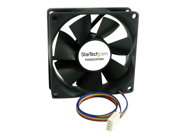 StarTech.com 80x25mm Computer Case Fan with PWM, FAN8025PWM