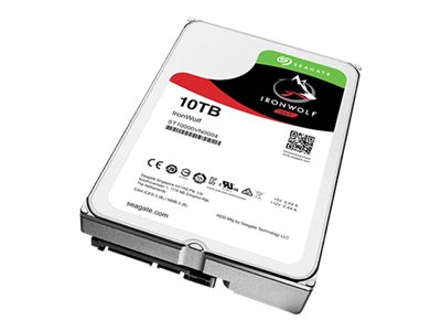 Seagate 10TB IronWolf SATA 6Gb s 3.5 Internal Hard Drive, ST10000VN0004