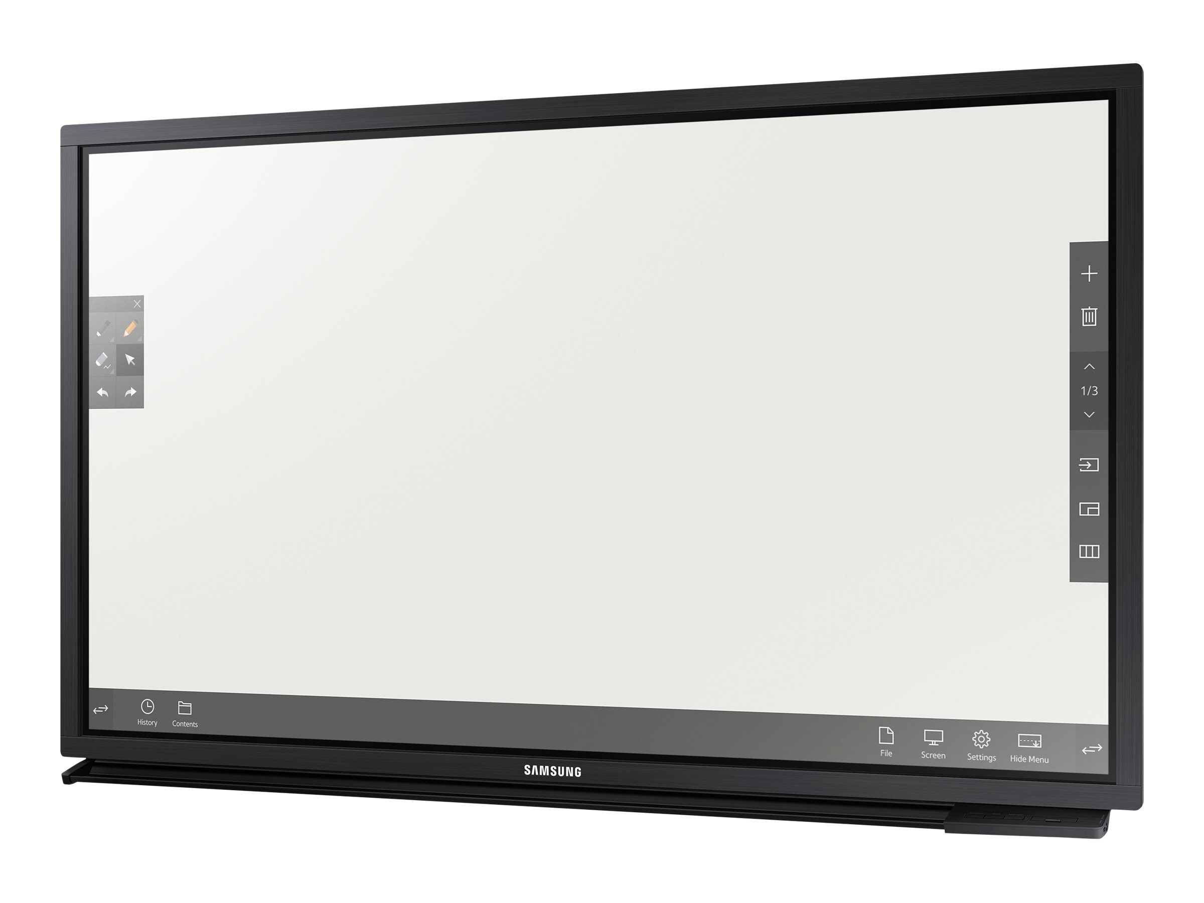 Samsung 75 DME-BR Full HD LED-LCD Touchscreen Display, Black, DM75E-BR