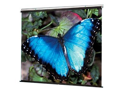 Draper V Screen Manual Projection Screen, Matte White, 1:1, 96 x 96in, 210008, 8391309, Projector Screens