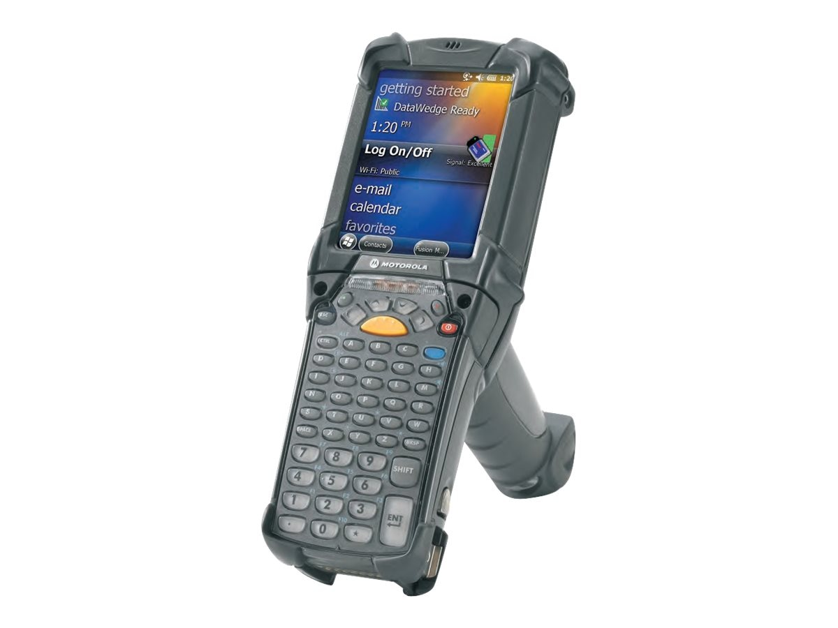Zebra Symbol MC9200 Gun 802.11abgn 2D Imager VGA Color 1GB 2GB 53-key 5250 Win CE 7.0 BT IST, MC92N0-G30SYJYA6WR