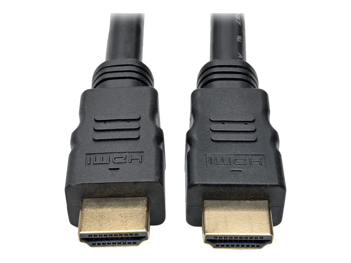 Tripp Lite Active High-Speed HDMI M M 1080p @60Hz Cable with Built-In Signal Booster, Black, 80ft, P568-080-ACT