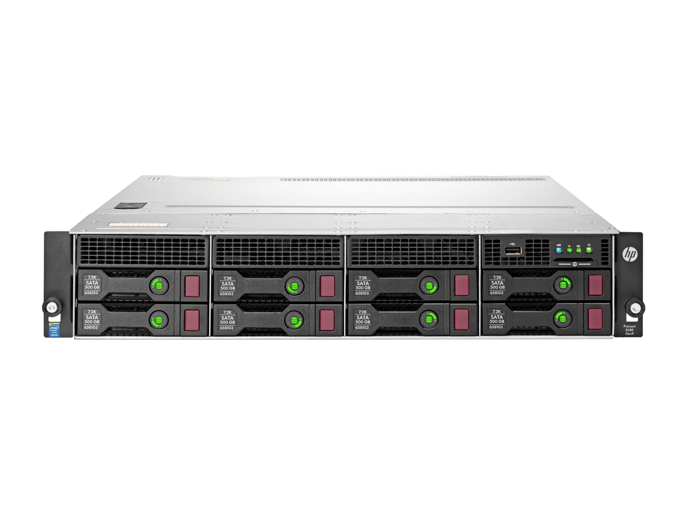 HPE ProLiant DL80 Gen9 Intel 1.7GHz Xeon