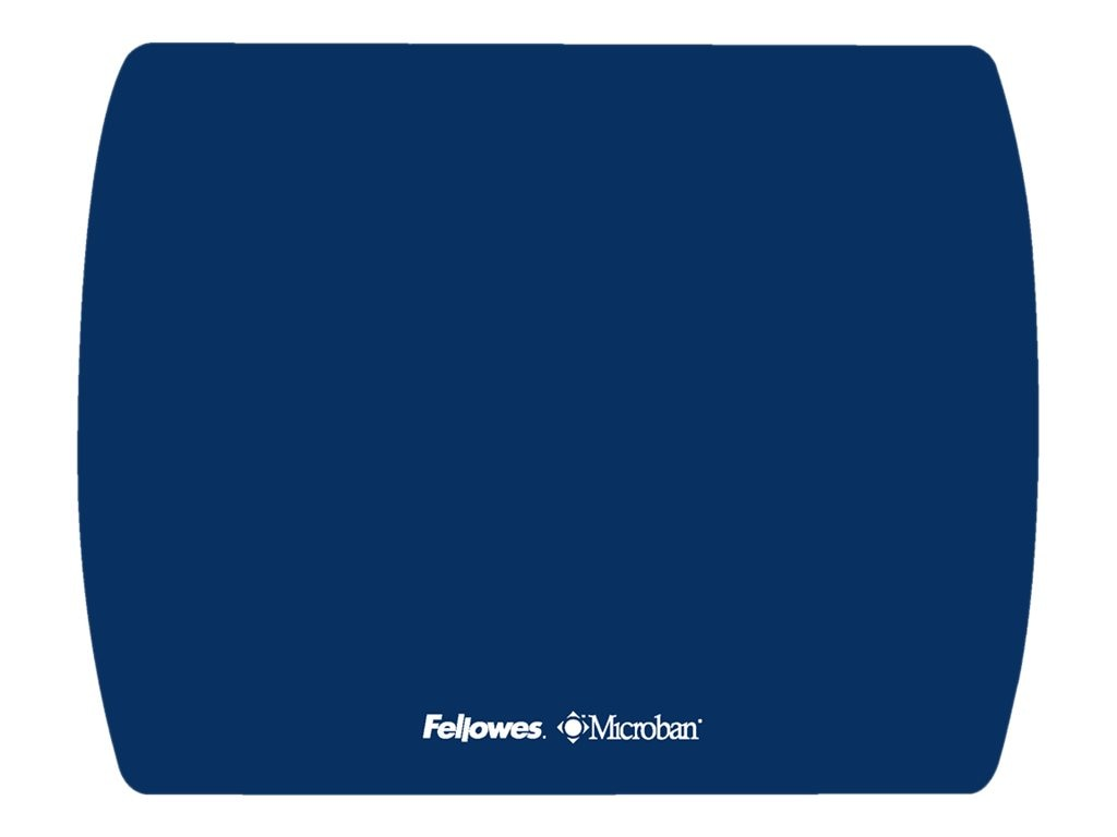 Fellowes Microban Ultra Thin Mouse Pad, Sapphire, 5908001, 11767784, Ergonomic Products