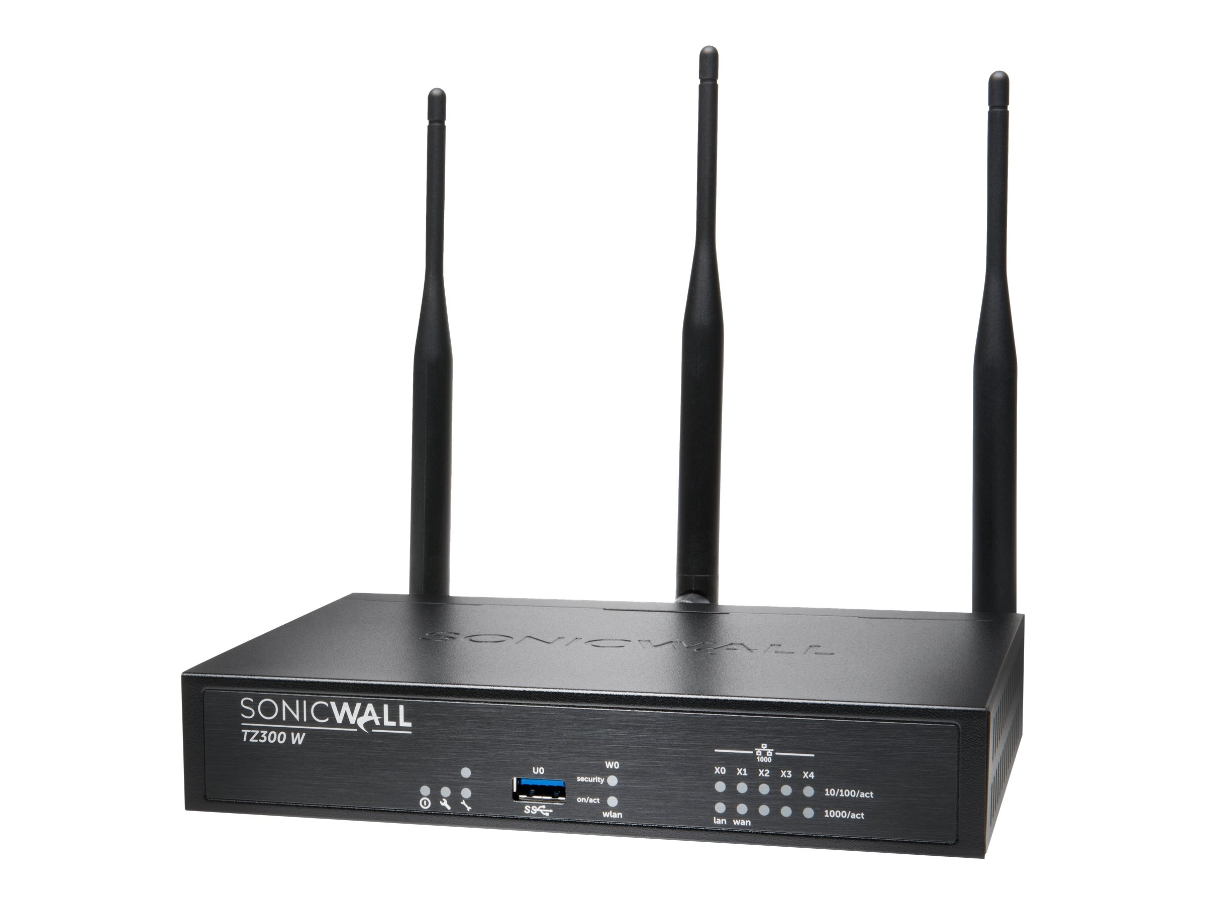 SonicWALL TZ300 Wireless AC Security Appliance w Secure Upgrade (2 Years)
