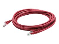 ACP-EP Cat6 Snagless Molded Patch Cable, Red, 5ft
