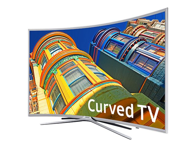 Samsung 48.5 K6250 Full HD LED-LCD Curved TV, Silver, UN49K6250AFXZA, 31957593, Televisions - LED-LCD Consumer