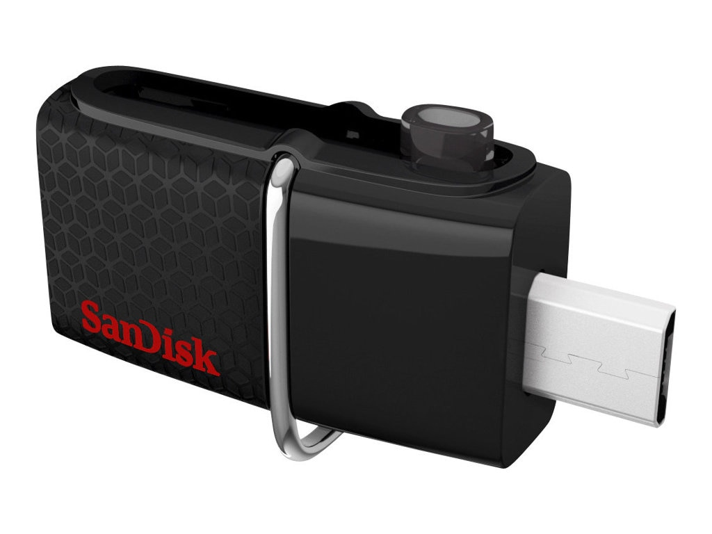 SanDisk 32GB Ultra Dual USB 3.0 Flash Drive, SDDD2-032G-A46