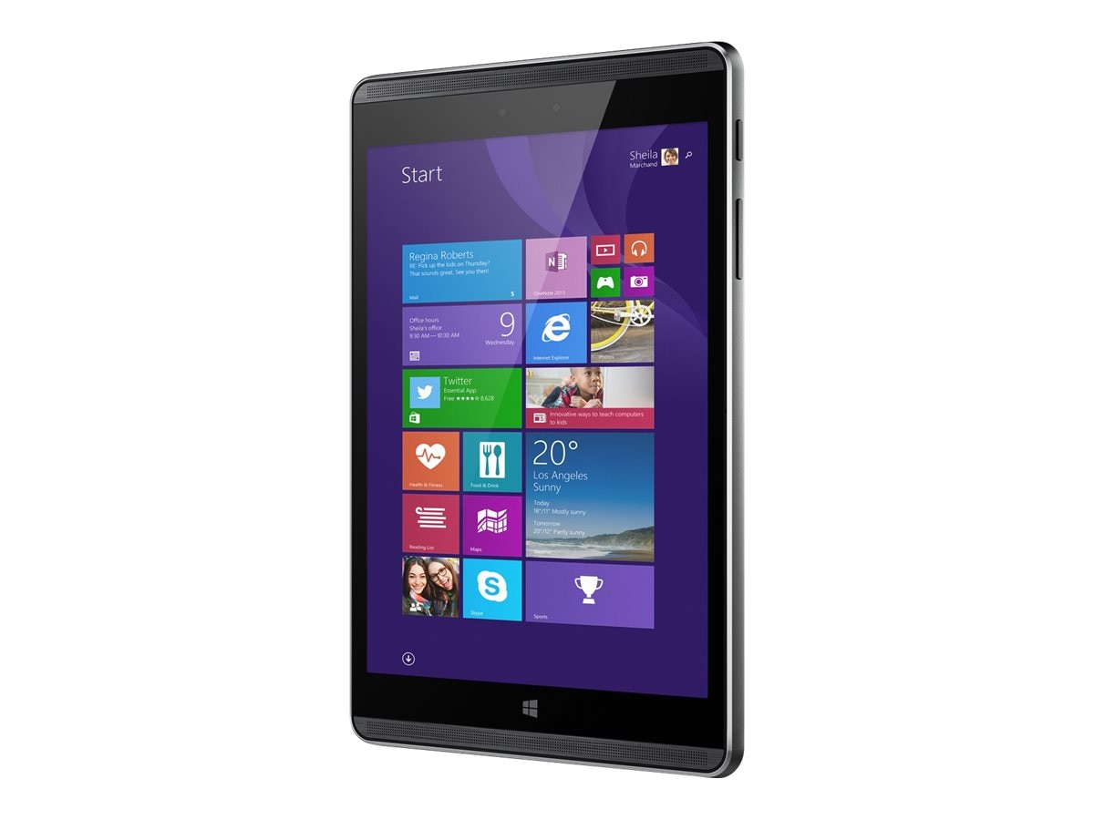 HP Pro Tablet 608 G1 1.44GHz processor Windows 10 Pro 64-bit Edition