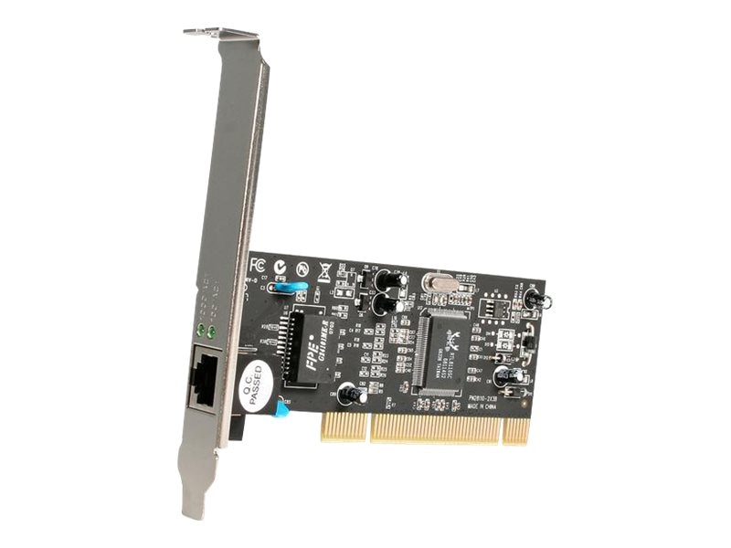 StarTech.com 10 100 1000Mbps 32 bit PCI Gigibit Ethernet Card, ST1000BT32, 4791671, Network Adapters & NICs