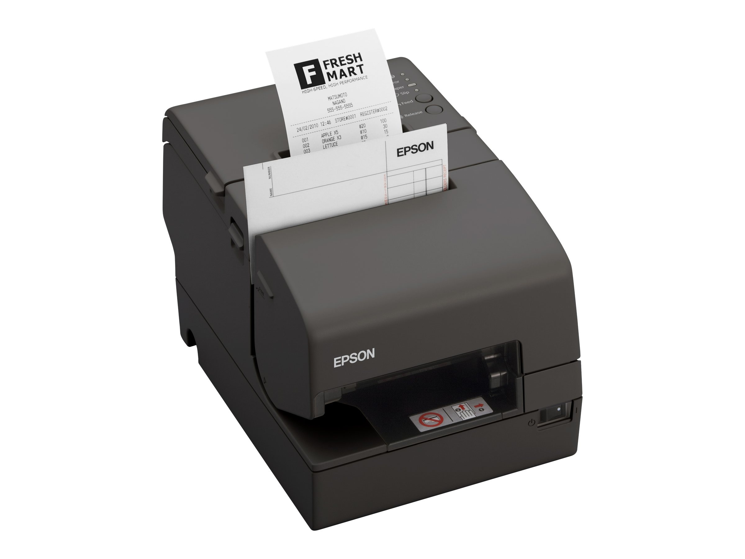 Epson H6000IV HID MICR Endorser USB & Powered USB Printer w  Edge, C31CB25612