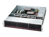 Supermicro SuperChassis 216BE16 2U RM (2x)Intel AMD Family 24x2.5 HS SAS SATA Bays 3xFans 2x920W RPS