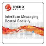 Trend Micro Corp. CLP InterScan Messaging Hosted Security Advanced 1 Year Subscription License 5-25 Users, NMNO0017, 11981174, Software - Antivirus & Endpoint Security