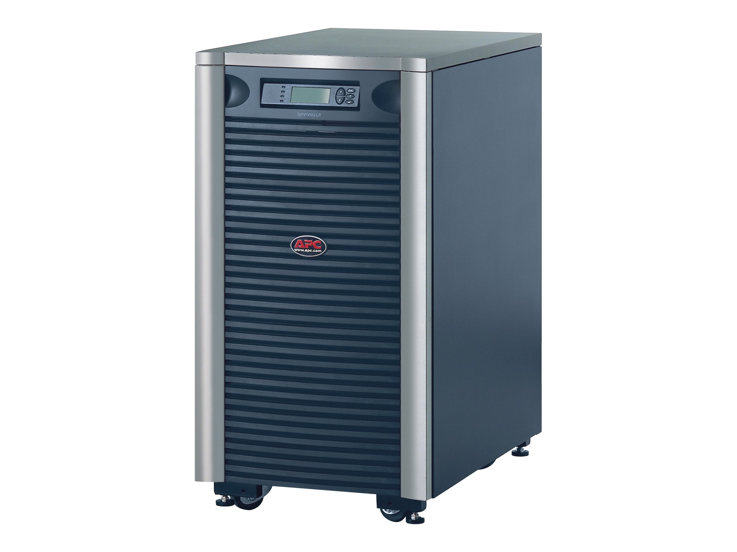 APC Symmetra LX 12KVA Scalable to 16KVA N+1 Extended Run Tower, 208 240V Input, 208V 240V 120V Output, SYA12K16PXR, 4926185, Battery Backup/UPS