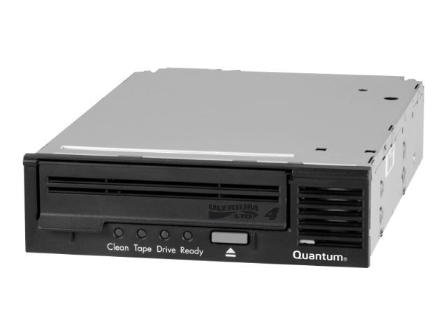 Quantum LTO-4 HH Ultra320 SCSI Internal Drive - Black Bezel (Bare), TC-L42AX-BR-B, 11005376, Tape Drives