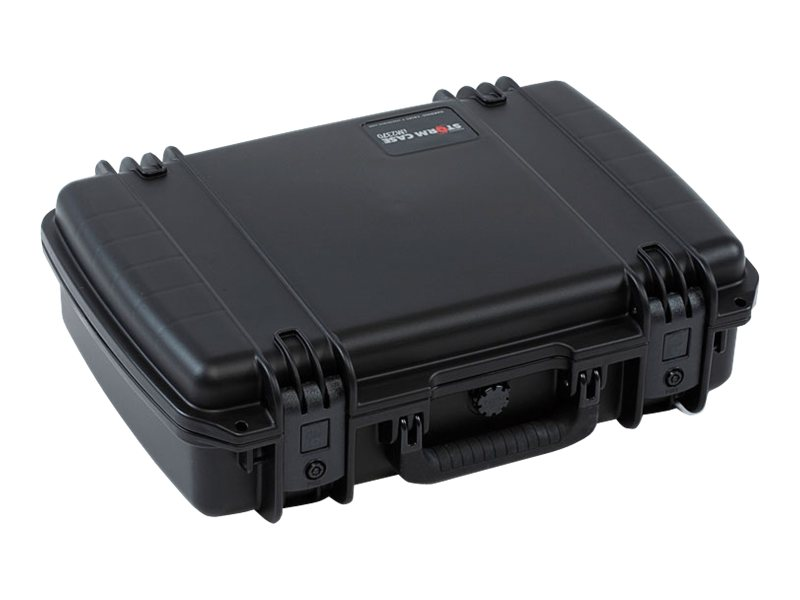 Pelican IM2370 Storm Laptop Hard Case, 4-piece Foam Set 18.2x12.1x5.2, Black