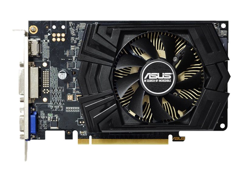 Asus GeForce GT 740 PCIe Overclocked Graphics Card, 1GB GDDR5