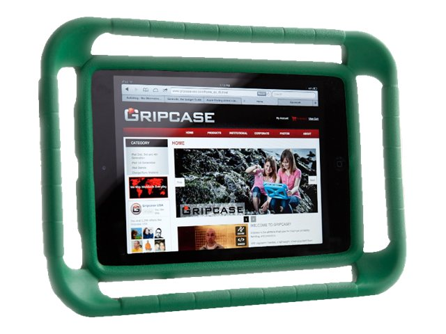 Gripcase Case for iPad Air, Green, IAIR-GRN, 16936410, Carrying Cases - Tablets & eReaders