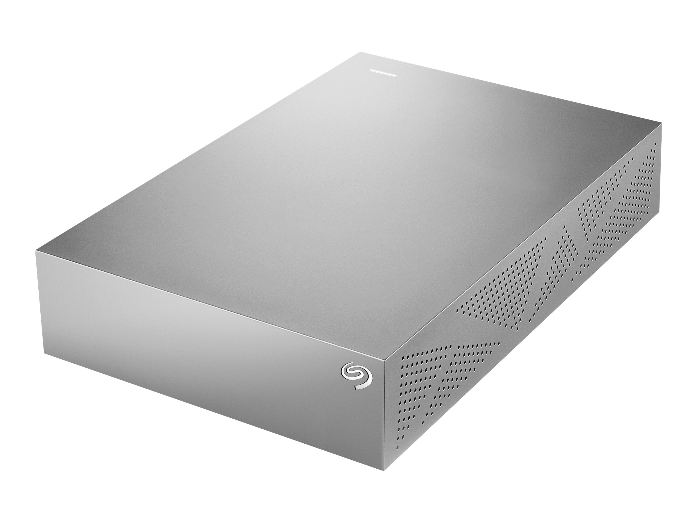 Seagate 4TB Backup Plus for Mac USB 3.0 3.5 Desktop Hard Drive - Titanium Silver, STDU4000100
