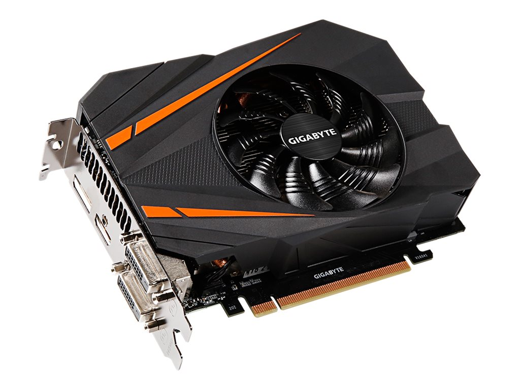 Gigabyte Tech Geforce GTX 1070 PCIe 3.0 x16 Graphics Card, 8GB GDDR5, GV-N1070IXOC-8GD