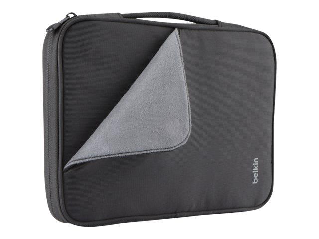 Belkin Slim Travel Sleeve for iPad 4 & 10 Tablet, Black, B2B068-C00